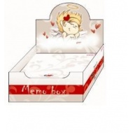 Pudełko z karteczkami Anioł