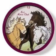 Zegar ścienny konie