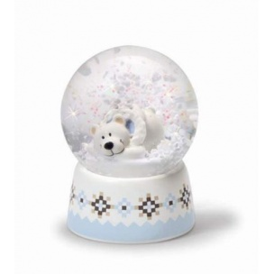 Kula śnieżna Miś Polarny